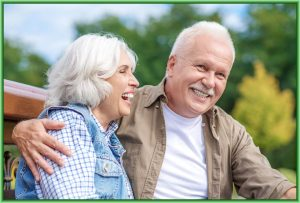 Couple with Dental Implants in Mansfield, OH